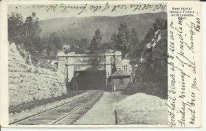 North Adams,Mass.,West Portal Hoosac Tunnel