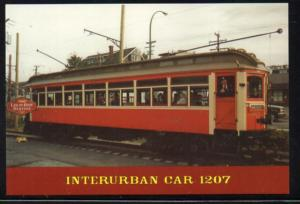 British Columbia Electric Rwy Interurban Car 1207 PC unused