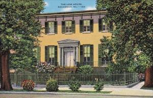 The Low House Savannah Georgia