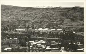 bolivia, LA PAZ, Panorama (1930s) RPPC