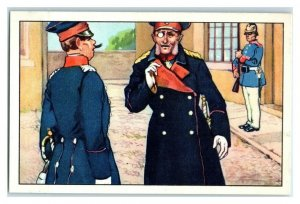 What are You? You are Not Shaved Famous Anecdotes Echte Wagner German Trade Card