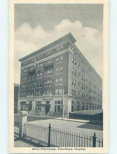 1940's HOTEL SCENE Petersburg - Near Richmond Virginia VA H0554