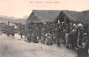 Nui Deo Marche Tonkin Vietnam, Viet Nam Unused