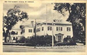 The first normal school Mason, Mason's Fraternal Organization, Postcard Post ...