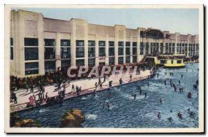 Old Postcard Toulouse Haute Gar La Piscine Municipale du Parc Toulousain