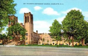 North Carolina Charlotte Dilworth Methodist Church