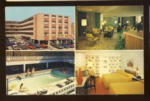 Atlantic City, New Jersey/NJ Postcard, The Barbizon Motel, Multi-View