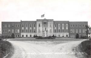 C72/ Momence Illinois Il Real Photo RPPC Postcard c40s St Jude's Seminary