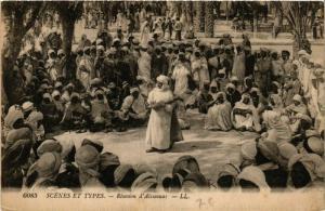 CPA Scenes et Types Reunion d'Aissaouas ALGERIE (749490)