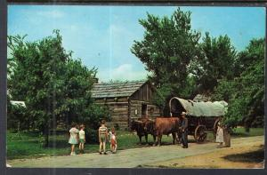 Ox Team,Lincoln's New Salem State Park,New Salem,IL BIN
