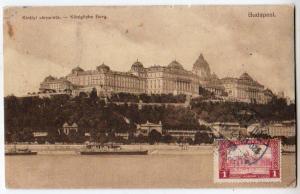 Kiralyi varpalota - Konigliche Burg / Budapest