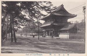 Gate of Zojo-temple , Japan , 00-10s