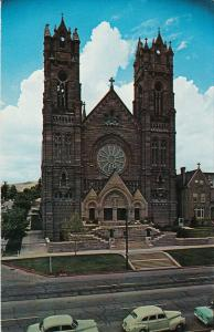 Cathedral of the Madeleine, Classic Cars, SALT LAKE CITY, Utah, 40-60's