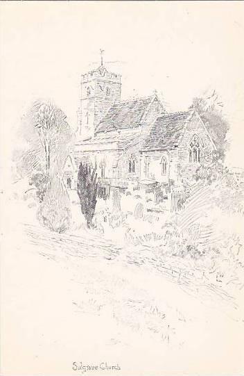 England Northamptonshire Sulgrave Church