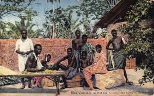 Ghana Gold Coast Aburi Sanatorium natives Postcard