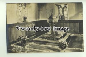 cu1922 - Interior of the Baptistry Crosthwaite & Records of Canon  - Postcard