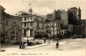 CPA DIEPPE-Chateau et Hotel Regina (347299)