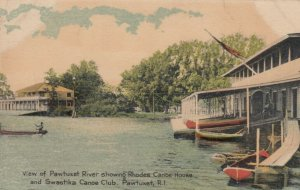 PAWTUXET , Rhode Island , 1918 , Rhodes Canoe House