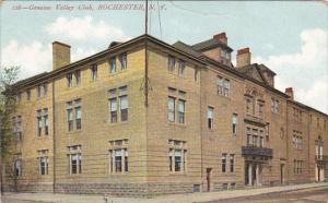 Genesee Valley Club Rochester New York 1910