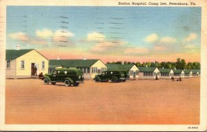 Virginia Petersburg Camp Lee Station Hospital 1941 Curteich