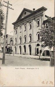 Washington DC Ford's Theatre c1906 Postcard G56