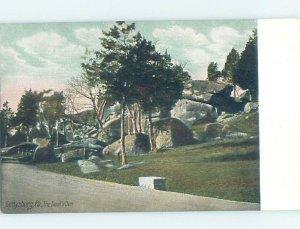 Pre-1907 MILITARY SCENE Gettysburg Pennsylvania PA AF9024