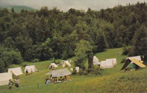Girl Guides Camp , TSOONA , B.C. , Canada , 50-60s ; Tents #1