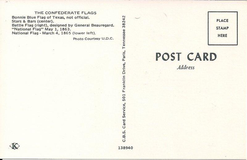 Confederate Battle Flag, Bonnie Blue Flag, Political, Civil War Centennial, 1961