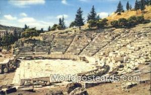Greece Theatre de Dionysos Athenes Theatre de Dionysos