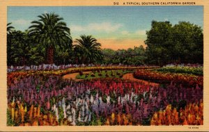 California A Typical Southern California Garden Curteich