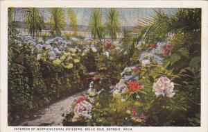 Interior Of Horticultural Building Belle Isle Detroit Michigan