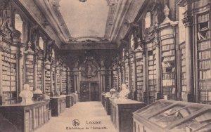 LOUVAIN, Flemish Brabant, Belgium, PU-1927; Bibliotheque De l'Universite
