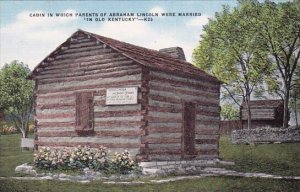Thomas Lincoln And Nancy Hanks Parents Of Abraham Lincoln Were Married In For...