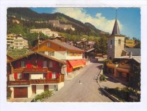 Leysin (Alpes Vaudoises, Alt. 1300 m), Vaud, Switzerland, 1950-1970s