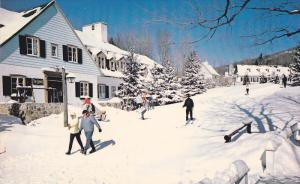 The Lodge and The Chalet Des Voyagers Of The Mont Tremblant Lodge, Mont Tremb...