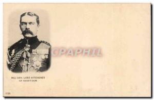 Great Britain Great britain Postcard Old Major General Kitchener of Khartoum ...