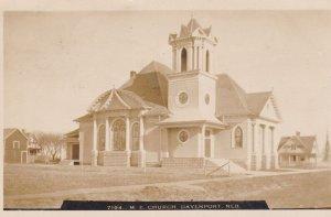 RP: M.E. Church , DAVENPORT , Nebraska , PU-1909