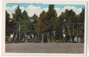 Playground, Auto Rest Park, Carmel ME