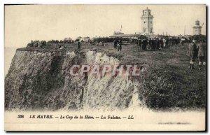 Old Postcard Le Havre Cape of Heve The Falatse