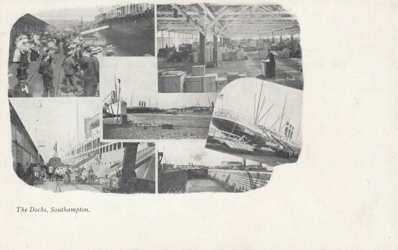 SOUTHAMPTON , England,  UK, 1898-1907 ; The Docks