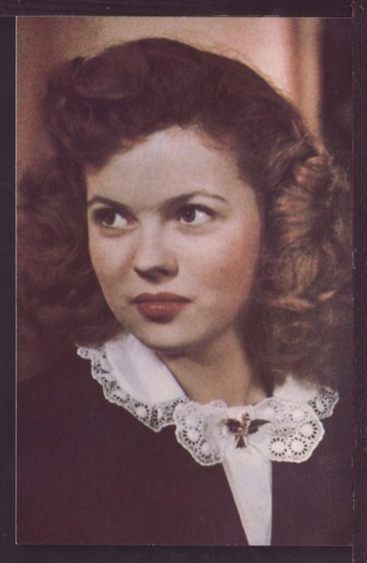Shirley Temple Post Card 3450