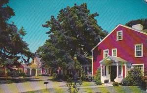 Massachusetts Cape Cod Falmouth Coonamessett Inn Original Building Built 1790