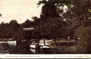 Michigan South Haven Midway Park 1907
