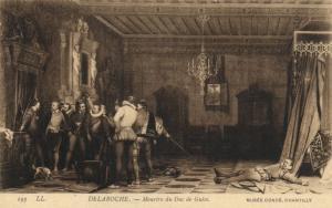 CPA Musée Condé DELAROCHE - Meurtre du Duc de Guise (307643)
