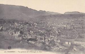 Panorama, Vue Generale Et La Montagne Du Chat, Chambery (Savoie), France, 190...