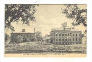 High & Grammar, Primary Schools, South Hadley Falls, Massachusetts, PU-1911