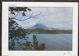 Arenal Volcano Laguna Costa Rica Postcard BIN