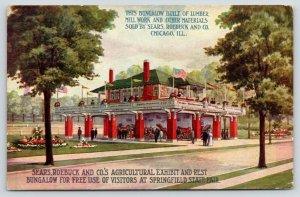 Springfield Illinois~State Fair~Sears & Roebuck Ag Exhibit & Rest Bungalow~1913