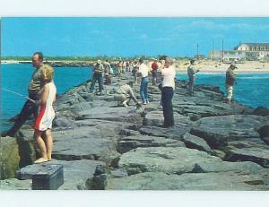 Pre-1980 WATER SCENE Cape May New Jersey NJ hp8639