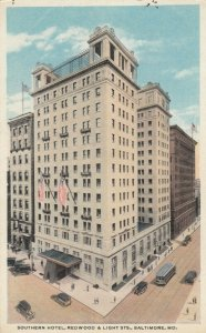 BALTIMORE , Maryland,1910s ; Southern Hotel
